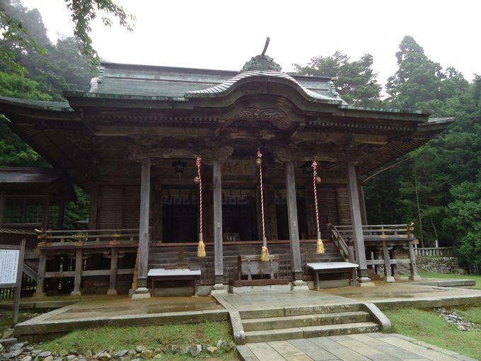 お金の神様が祀られている黄金山神社