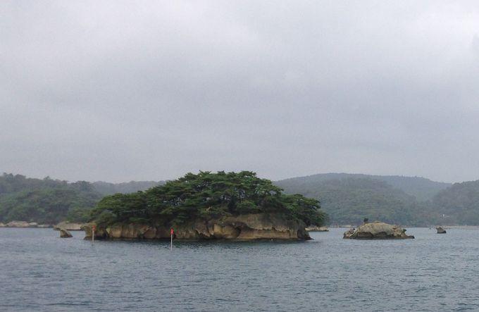 風光明媚な島々が連なる松島一押しのエリア