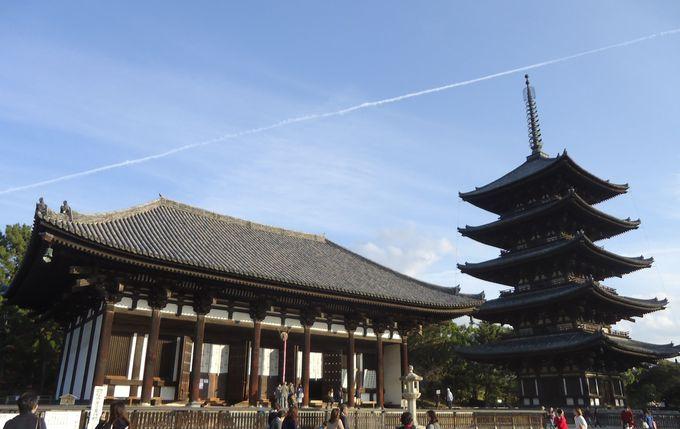 13度も火災や兵火に見舞われた興福寺