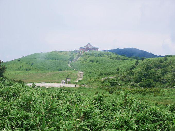 真夏でも風が涼しい標高1300mからの絶景