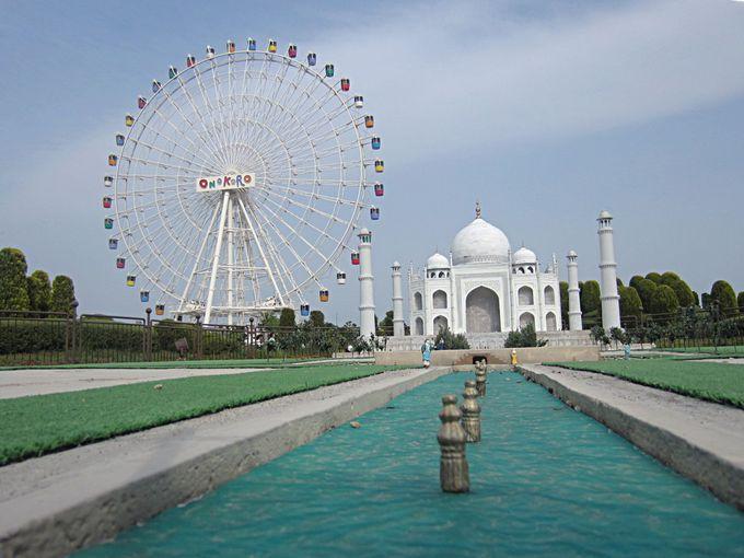 世界の超有名建築物がミニチュアで!「淡路ワールドパークONOKORO」