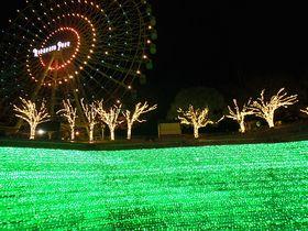 これがひらパー?観覧車から見る光の遊園地イルミネーション!|大阪府|トラベルjp<たびねす>