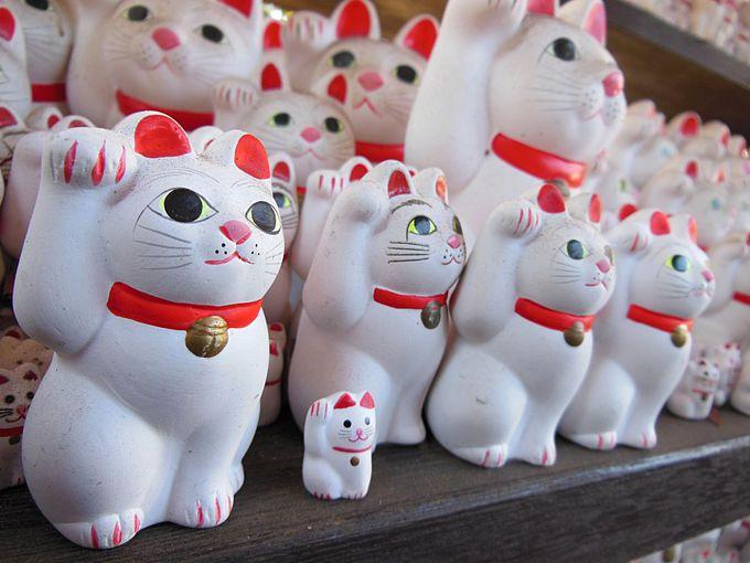 招き猫だらけの豪徳寺 その1