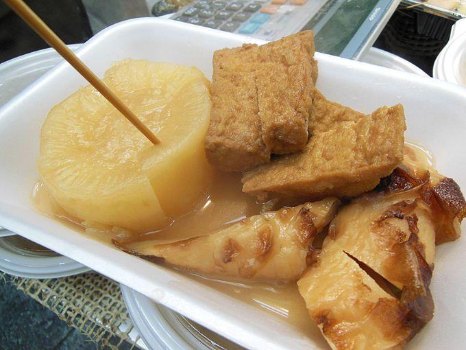 黒門市場で外国人観光客に人気のちょっと意外な食べ物