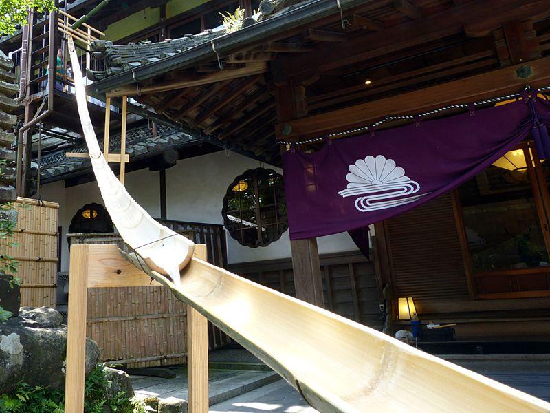 奈良の老舗料亭3階から流し素麺?菊水楼の夏限定イベント