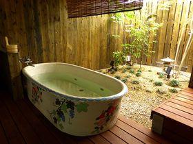 大阪の有名商店街すぐ!露天風呂も超オシャレなホステル淡海