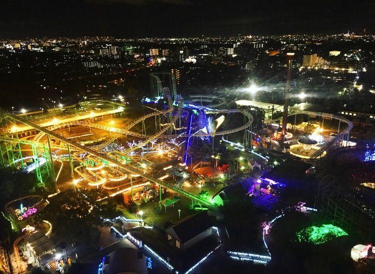 ひらパー180万球「光の遊園地」!大阪の幻想的な人気イルミ