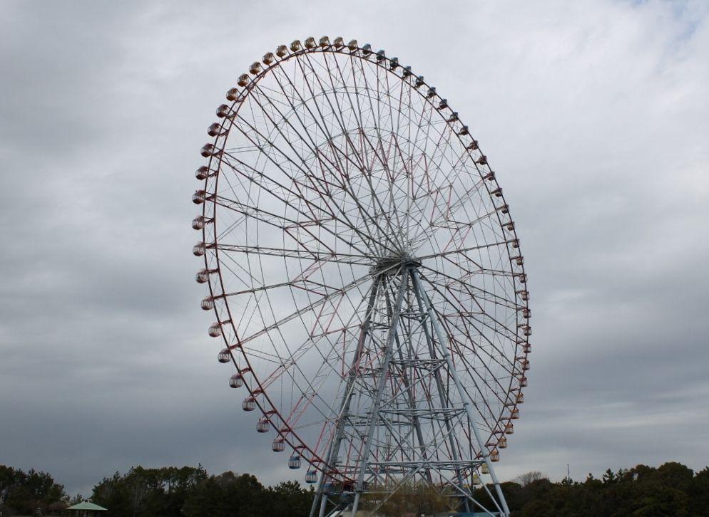 日本一! 117メートルからの眺望 『ダイヤと花の大観覧車』