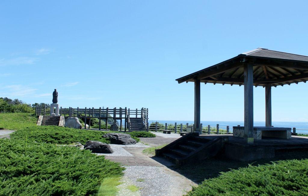 太平洋を一望できる「展望広場」