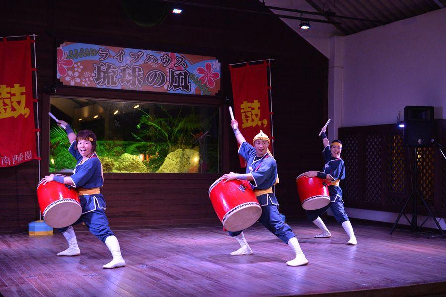 「琉球の風」でライブを堪能!