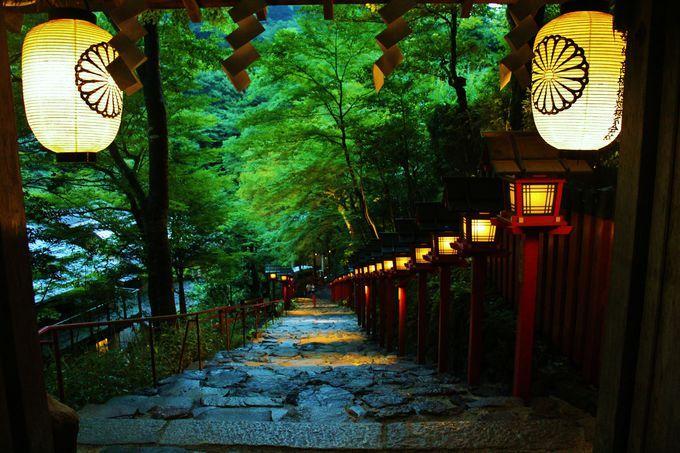 これぞ京都の夕涼み!貴船神社「...