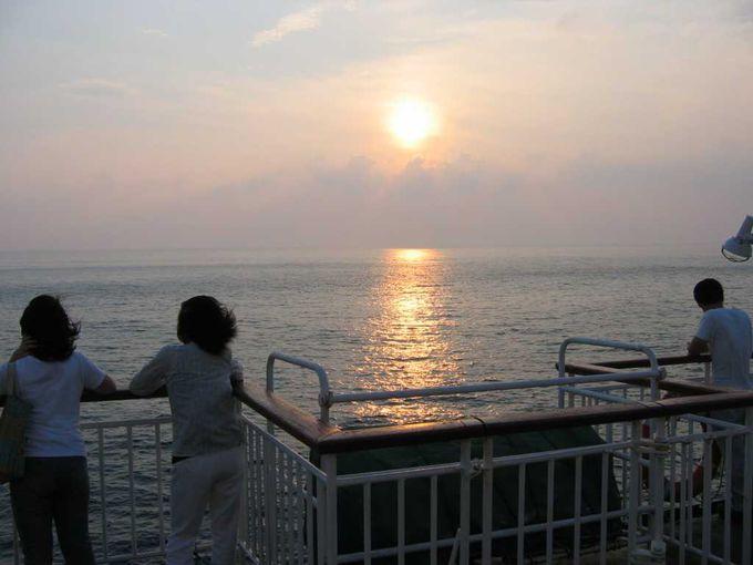 船旅を積極的に楽しむ!
