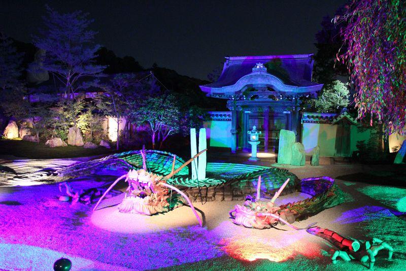秀吉とねねの寺、「高台寺」秋のライトアップ