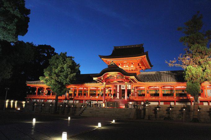 日本三大八幡宮の一つ、石清水八幡宮