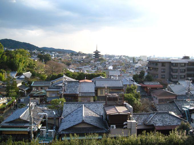 京都市内一望!絶景かな、絶景かな!