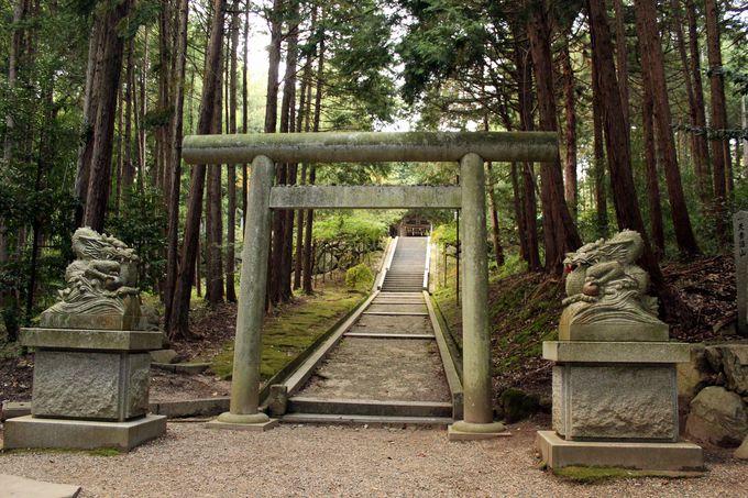 元伊勢・籠神社の奥宮「真名井神社」