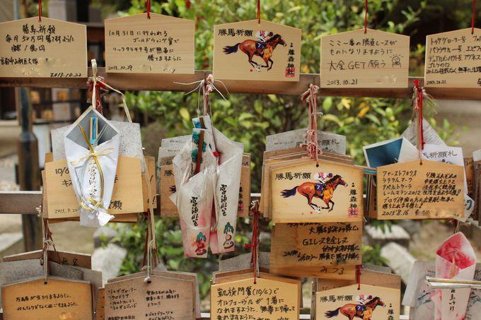 勝運と馬の神様に願をかけよう!藤森神社