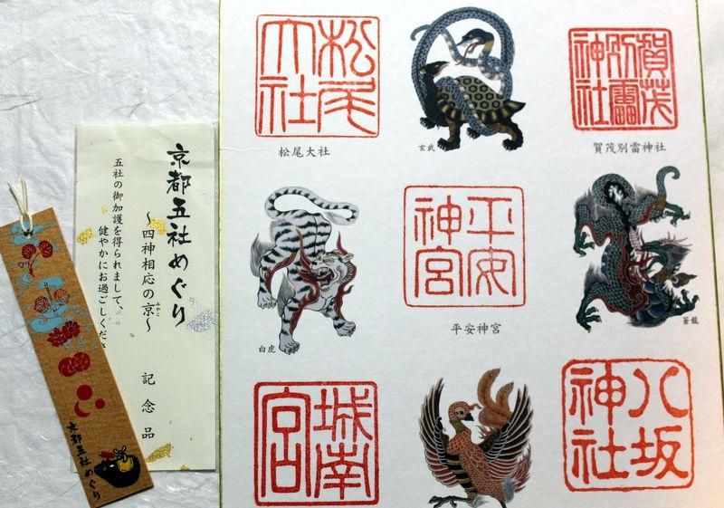 五つの神社をめぐる京都の初詣!「京都五社めぐり〜四神相応の京〜」