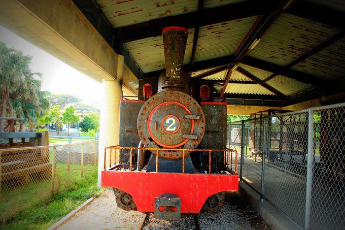 さとうきびの島で生まれた鉄道