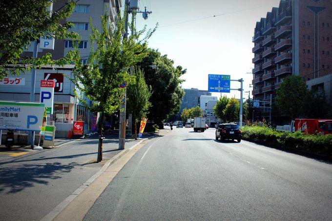 真直ぐな道ばかりの京都で、曲がる道の謎