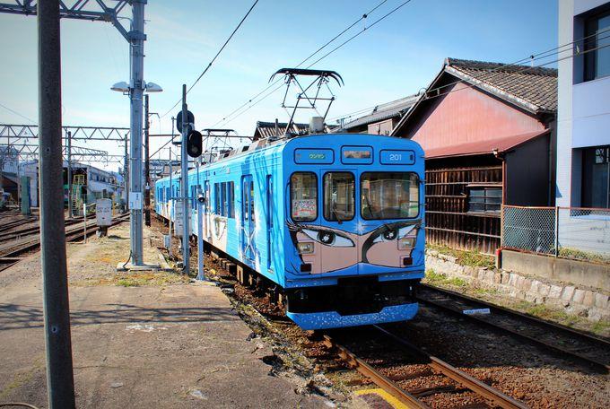 伊賀忍者の里・伊賀上野を走る「伊賀鉄道」