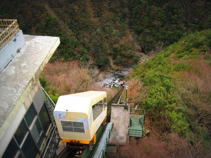 ケーブルカーで四国の秘境・祖谷渓の谷底へ「ホテル祖谷温泉」(徳島県)