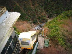 ケーブルカーを運転?秘境祖谷渓の谷底へ向かえ!「祖谷温泉」|徳島県|トラベルjp<たびねす>