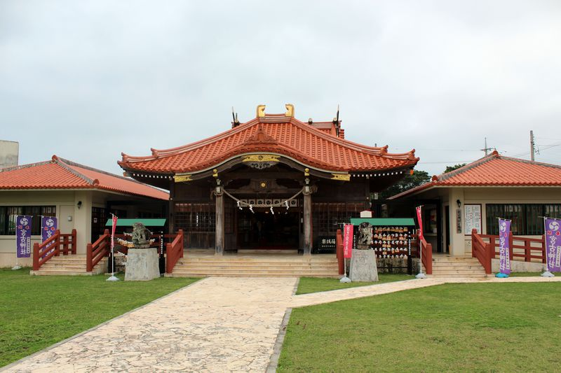 宮古島「宮古神社」は南国テイスト溢れる日本最南端の神社!