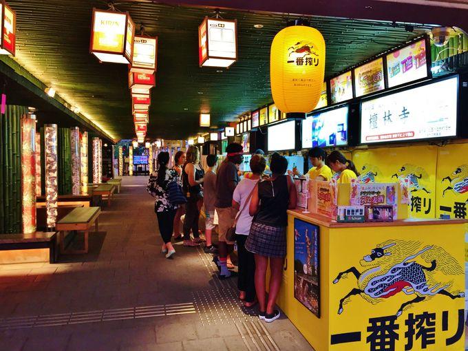 嵐電嵐山駅はビール党の夢の駅!?