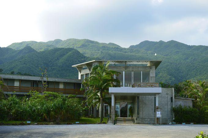 未開のジャングル西表島に抱かれたホテル