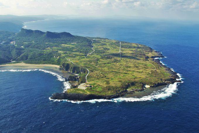 沖縄本島最北端「辺戸岬」