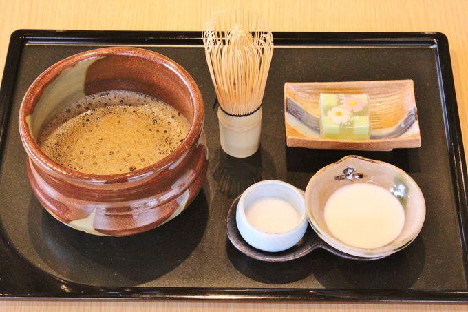 「和カフェ」の遊び心
