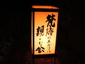 妙心寺東林院「梵燈のあかりに親しむ会」は日本一暗いライトアップ!|京都府|トラベルjp<たびねす>