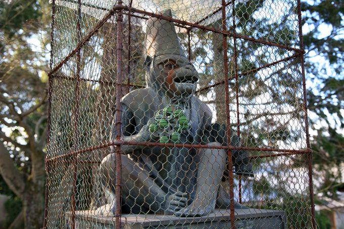 「新日吉神宮」にもゲッチュされた猿がいる!