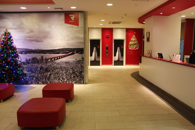 「レッドプラネット 那覇 沖縄」は日本離れしたスタイリッシュさに溢れるホテル