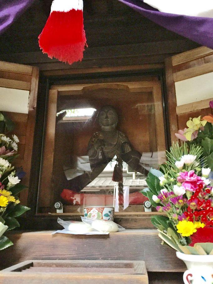 真田幸村の念持仏「幸村の知恵の地蔵尊」