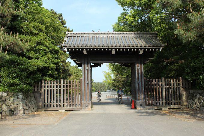 市民の憩いの場「京都御苑」