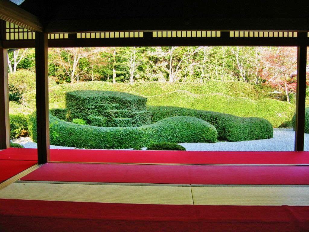 名作庭家・小堀遠州作の「蓬莱庭園」