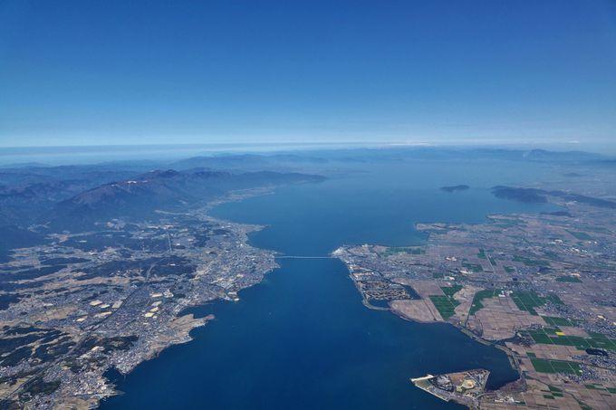 夢の架け橋「琵琶湖大橋」