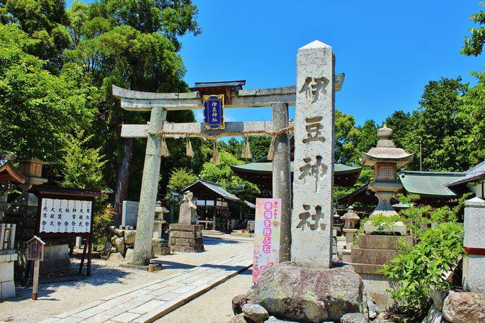 由緒ただしき「伊豆神社」
