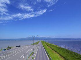 諫早湾縦断!「雲仙多良シーライン」は快適ドライブルート|長崎県|トラベルjp<たびねす>