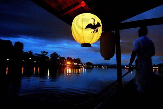 嵐山でお月見!「嵐響夜舟(らんきょうやふね)」でとっておきの夜を。