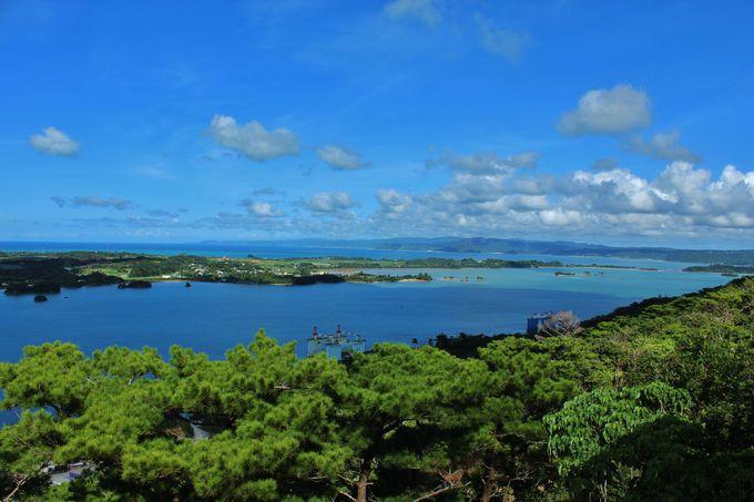 嵐山からの絶景は沖縄八景!左に右にパノラマを楽しもう