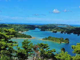 沖縄の嵐山は穴場の絶景スポットだった!名護市「嵐山展望台」|沖縄県|トラベルjp<たびねす>