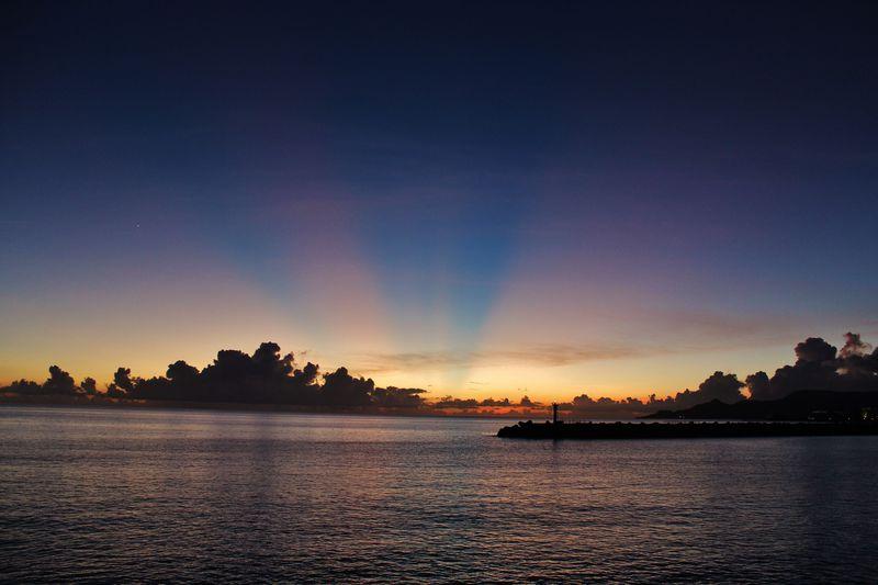 「ホテル ルートイン名護」名護湾の夕焼けが目に染みる!