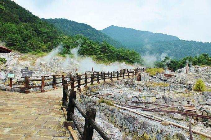 九州屈指の温泉地の一つ「雲仙温泉」