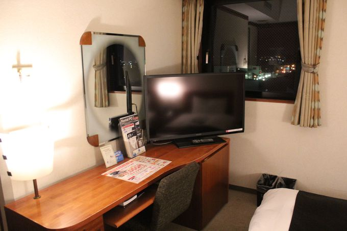 アパホテルでは快眠が約束されている