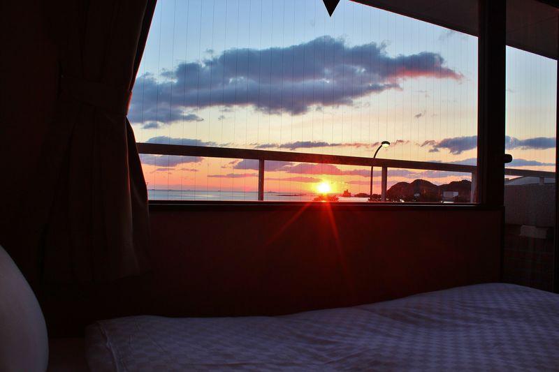 南紀「パルスイン勝浦」で朝日と共に目覚めよう!