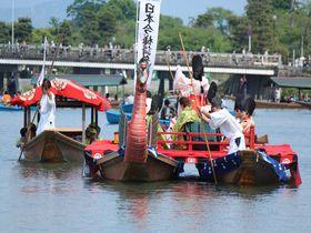 雅なり、水上の平安絵巻!京都嵐山「三船祭」|京都府|トラベルjp<たびねす>