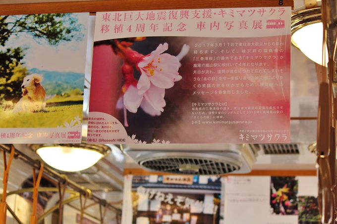 震災の記憶を乗せて、京都を走る「キミマツサクラ号」